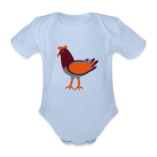 Cock.svg - Body ecologico per neonato a manica corta