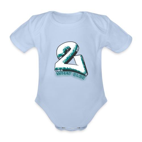 77 what else - Baby Bio-Kurzarm-Body
