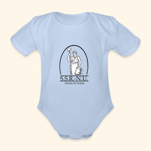 Uniemaagd - Baby bio-rompertje met korte mouwen