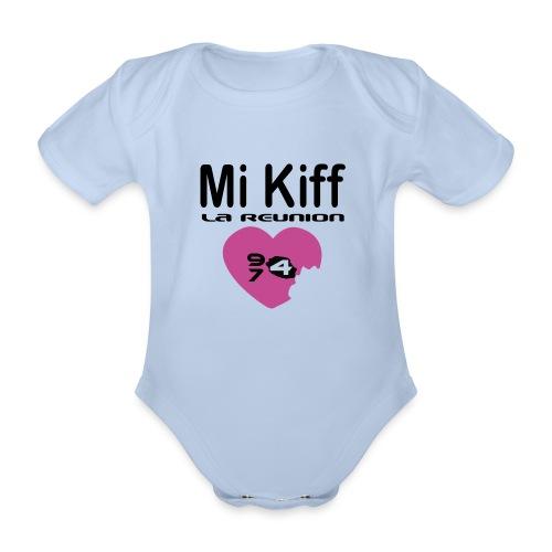 Mi Kiff la reunion - Body Bébé bio manches courtes