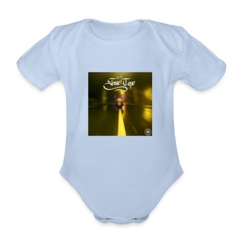 the 2nd sense tape jpg - Organic Short-sleeved Baby Bodysuit
