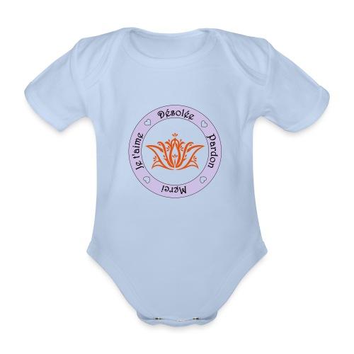 Tee shirt Bio Femme Ho oponopono - Organic Short-sleeved Baby Bodysuit
