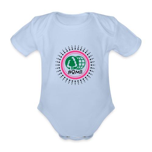 Planète home sweet home - Organic Short-sleeved Baby Bodysuit