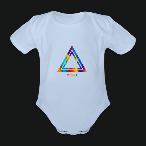 ØKUNA - Tee shirt logo - Body bébé bio manches courtes