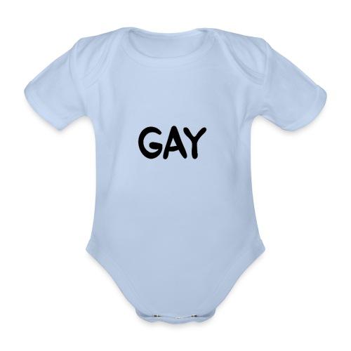 GAY - Organic Short-sleeved Baby Bodysuit