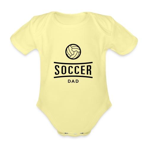 soccer dad - Body Bébé bio manches courtes
