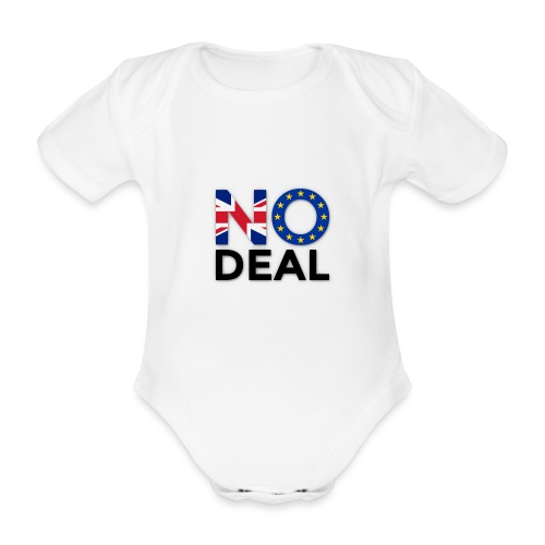 No Deal - Organic Short-sleeved Baby Bodysuit