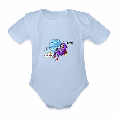 Prepare Uranus - Baby Bio-Kurzarm-Body
