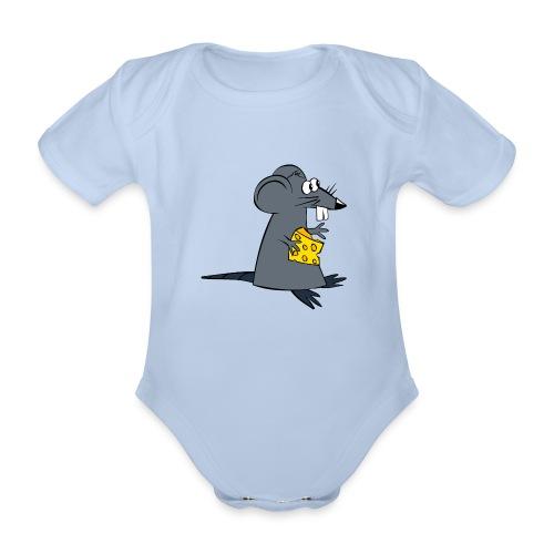 ratte - Baby Bio-Kurzarm-Body