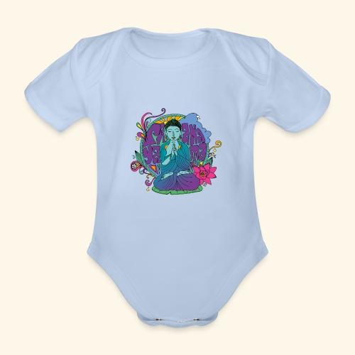 pranayama - Body orgánico de maga corta para bebé