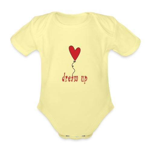 dream up - Body ecologico per neonato a manica corta