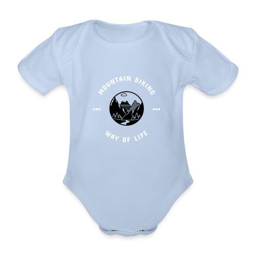 MTB WayOfLife - Baby Bio-Kurzarm-Body