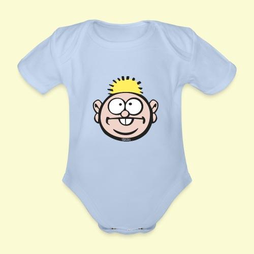 DIRKJAN - Baby bio-rompertje met korte mouwen