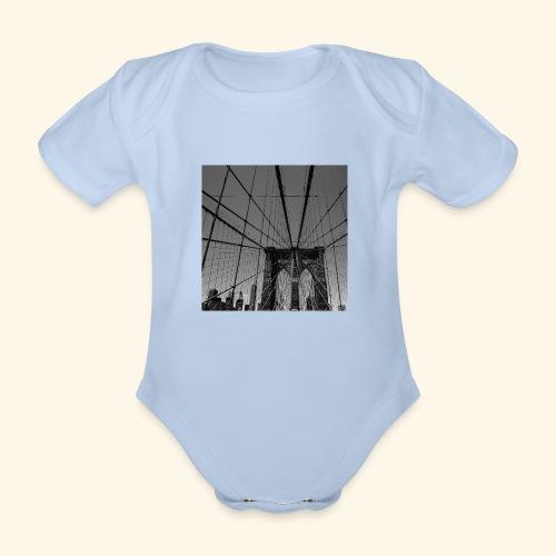 Ragnatela a New York - Body ecologico per neonato a manica corta