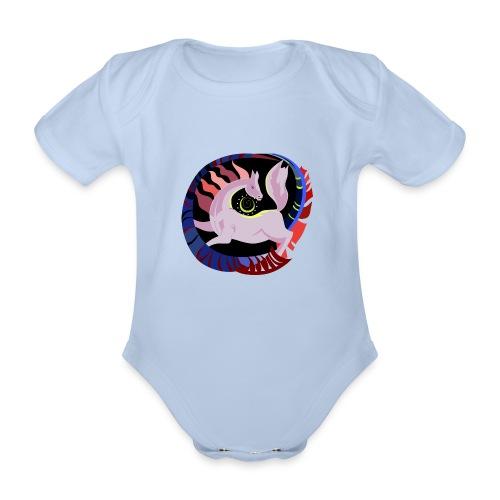 Spirale infinita - Body ecologico per neonato a manica corta