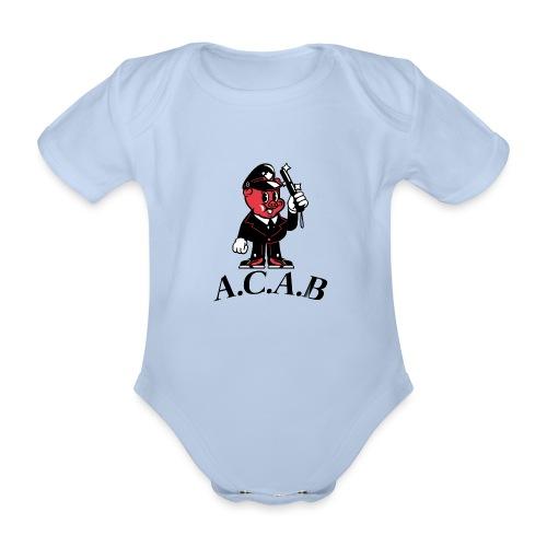 A.C.A.B cochon - Body Bébé bio manches courtes