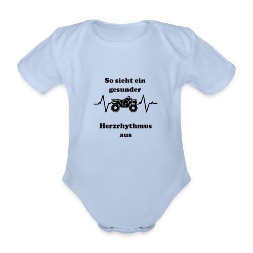 Herzrhytmus - Baby Bio-Kurzarm-Body