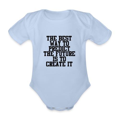 Untitled-10 - Baby bio-rompertje met korte mouwen
