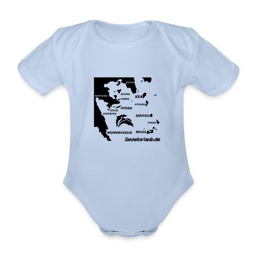 pelepones_kykladen - Baby Bio-Kurzarm-Body
