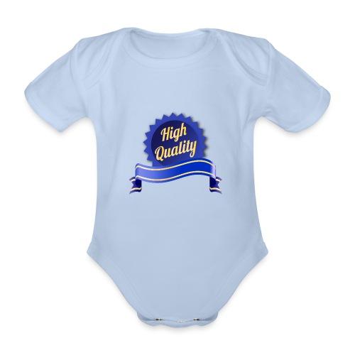 High Quality - Baby Bio-Kurzarm-Body