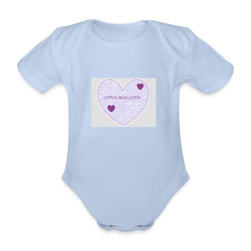 Little_miss_cutie_4 - Baby bio-rompertje met korte mouwen