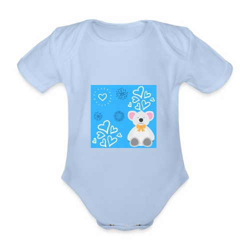 I LOVE ORSETTI - Body ecologico per neonato a manica corta