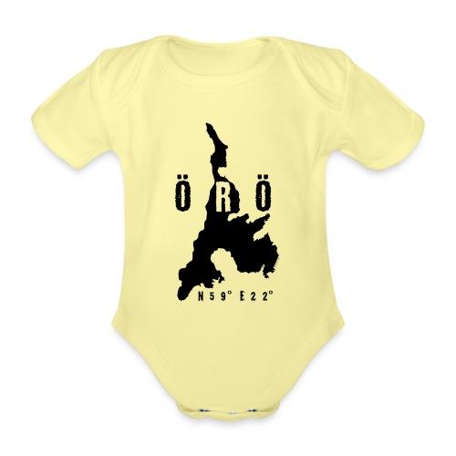 ÖRÖ ISLAND, FINLAND T-SHIRTS, HOODIES + 150 GIFTS - Vauvan lyhythihainen luomu-body
