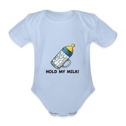 Hold My Milk - Baby Bio-Kurzarm-Body