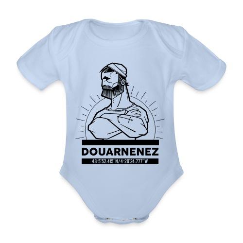 Marin de Douarnenez - Body Bébé bio manches courtes