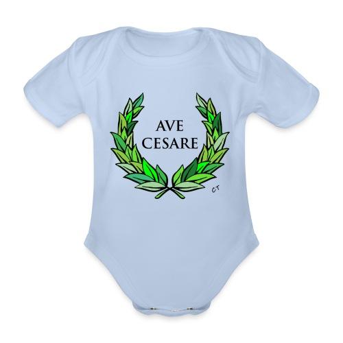 AVE CESARE - Body ecologico per neonato a manica corta