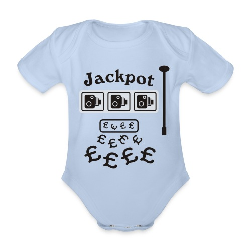 Speed Camera Jackpot - Organic Short-sleeved Baby Bodysuit