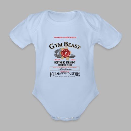 GYM BEAST - Baby Bio-Kurzarm-Body