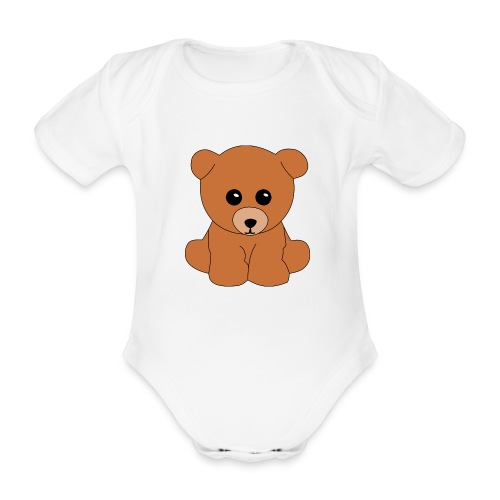 Teddy - Baby Bio-Kurzarm-Body