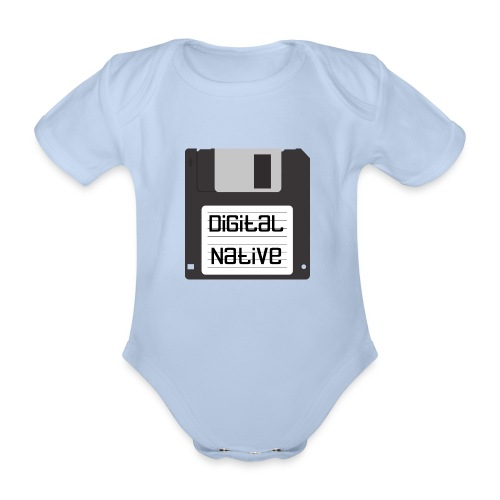 Digital Native - Baby Bio-Kurzarm-Body