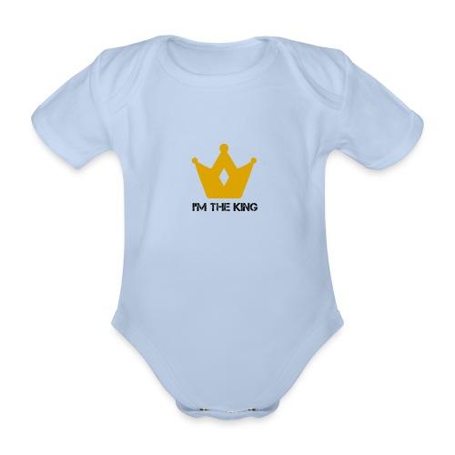 Kuningas - Vauvan lyhythihainen luomu-body