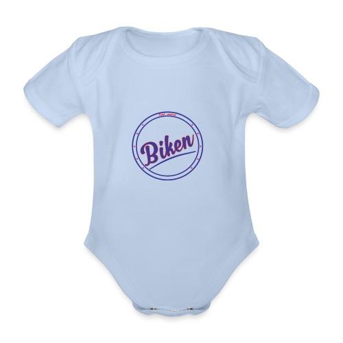Biken - Baby Bio-Kurzarm-Body