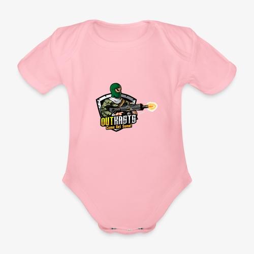OutKasts [OKT] Logo 1 - Organic Short-sleeved Baby Bodysuit