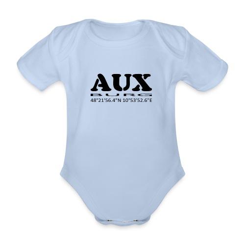 Auxburg - Baby Bio-Kurzarm-Body