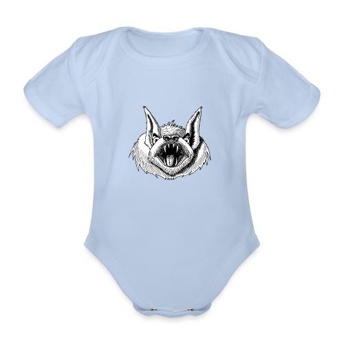 Fledermaus - Baby Bio-Kurzarm-Body