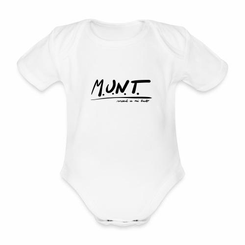 Munt - Baby bio-rompertje met korte mouwen