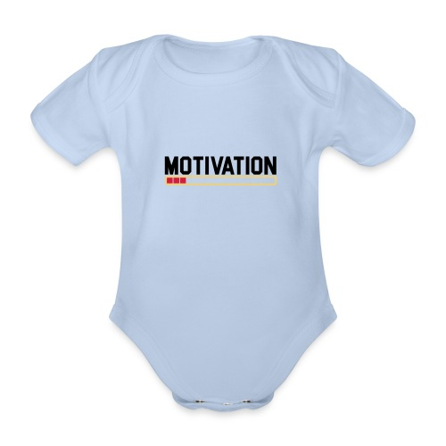 Keine Motivation - Baby Bio-Kurzarm-Body