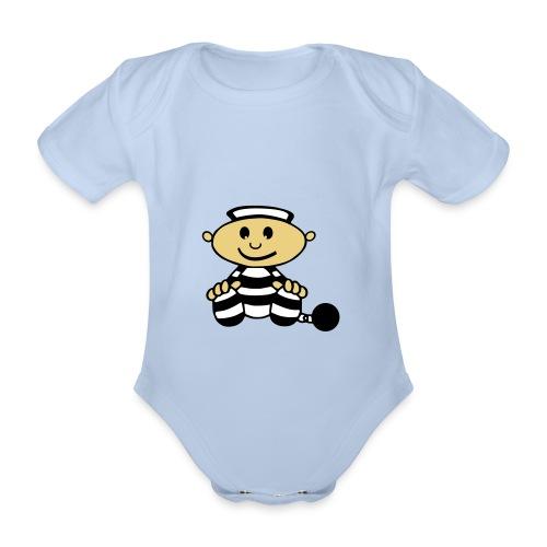 isolation2 - Kortærmet babybody, økologisk bomuld