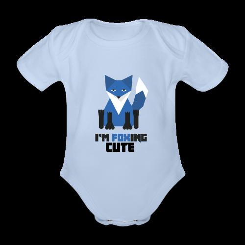 I'm Foxing Cute : Boy Edition - Body bébé bio manches courtes