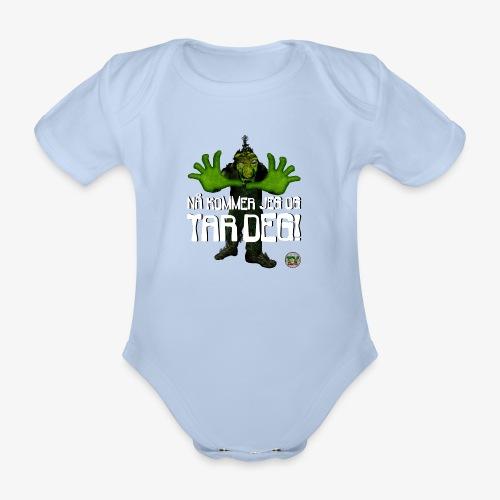 Troll - Økologisk kortermet baby-body