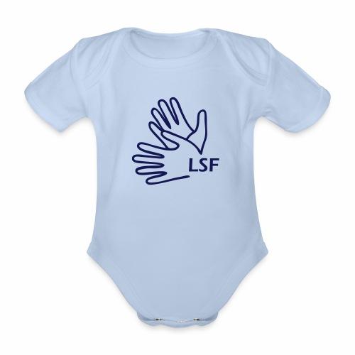 Mains LSF - Body Bébé bio manches courtes