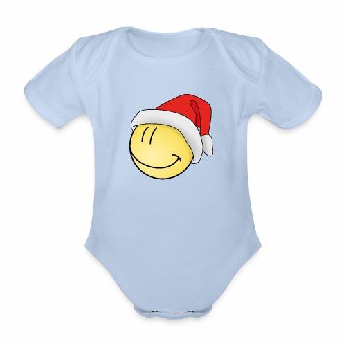 santa-smilie - Baby Bio-Kurzarm-Body