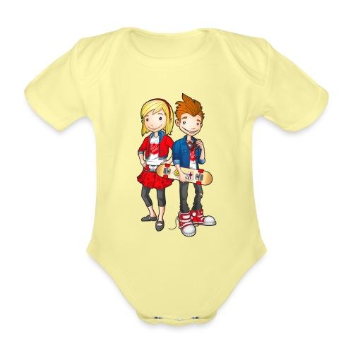 Kids Shirts Characters - Baby Bio-Kurzarm-Body