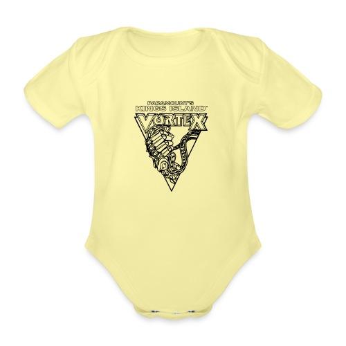 Vortex 1987 2019 Kings Island - Vauvan lyhythihainen luomu-body