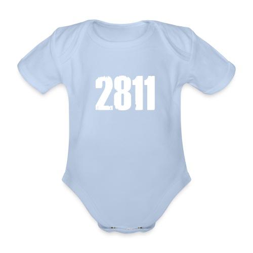 2811 - Baby bio-rompertje met korte mouwen