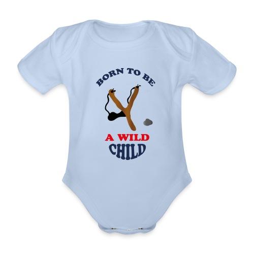 Wild child by Lola - Baby Bio-Kurzarm-Body